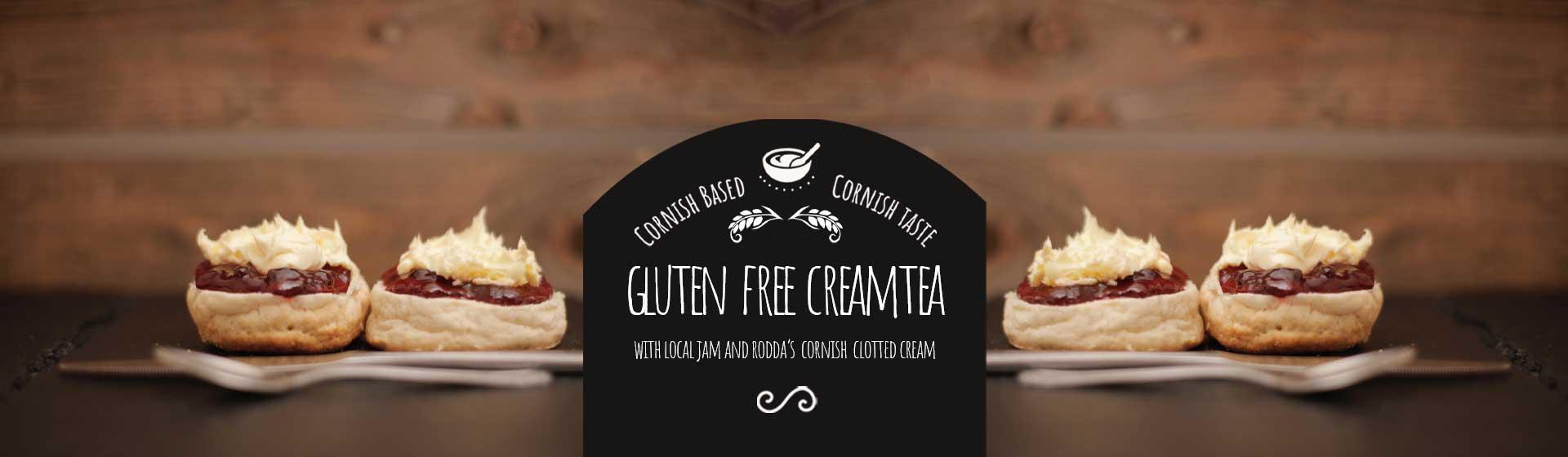 Gluten Free Cream Tea