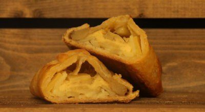 Gluten Free Cheese and Vegetable Pasty
