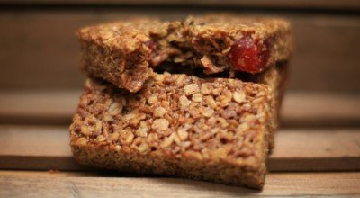 Gluten Free Cherry Oatmeal Crunch