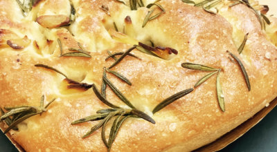 Gluten Free Focaccia Roasted Garlic & Rosemary