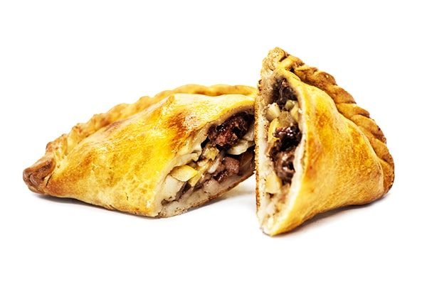 Gluten Free Traditional Steak Cornish Pasty