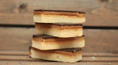Gluten Free Caramel Shortbread