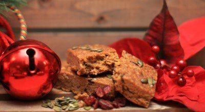 Gluten Free Cranberry & Pumpkin Granola Bar