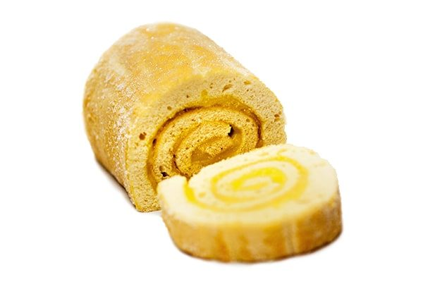 Gluten Free Swiss Roll - Lemon